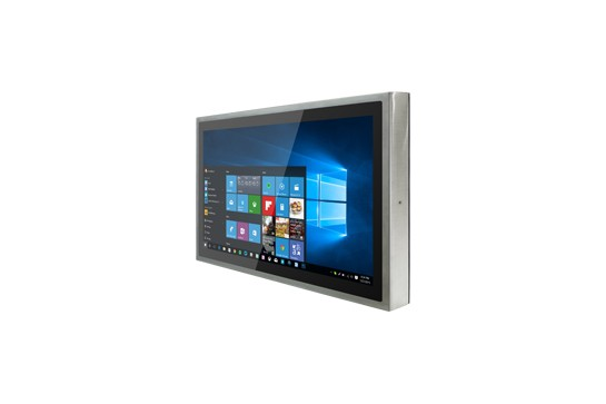 """23,8"""" Flat Stainless Panel PC  W24IK3S-SPA269"""